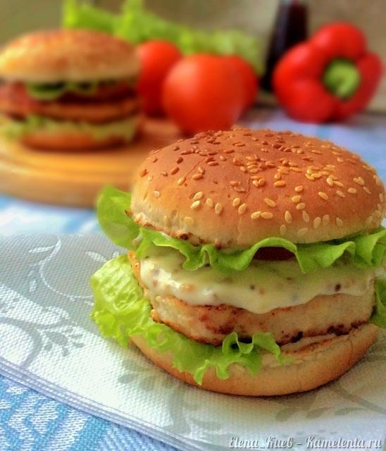 Чикенбургер рецепт пошагово