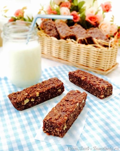 Рецепт Шоколадно-ореховые бары