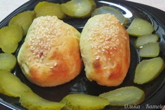 Сосиски, запеченные в картофельном