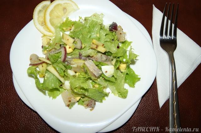 рецепт салата на зиму из сельди