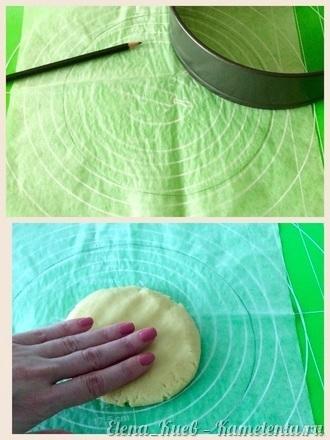 Приготовление рецепта Летний клубничный торт шаг 7