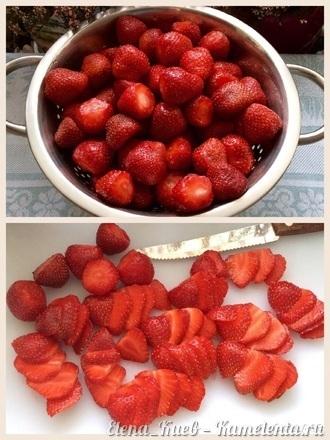 Приготовление рецепта Летний клубничный торт шаг 10