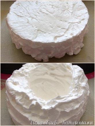 """Приготовление рецепта Торт """"Павлова"""" шаг 6"""