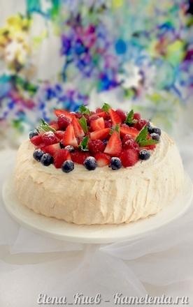 """Приготовление рецепта Торт """"Павлова"""" шаг 13"""