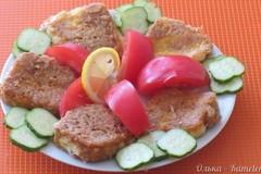 Кашкавал пане ( жареный сыр )