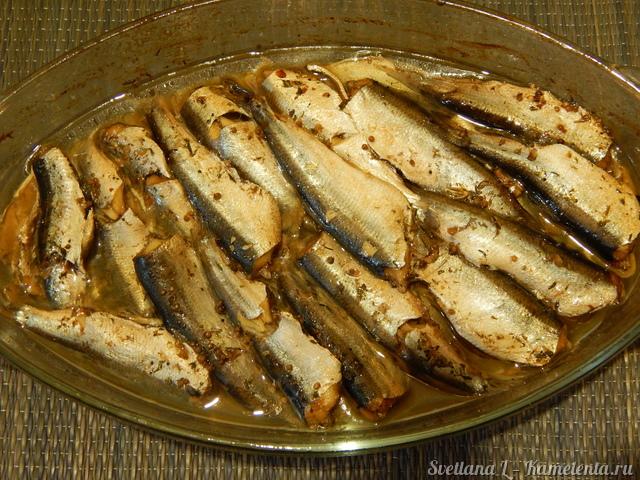 Салака в фольге рецепт