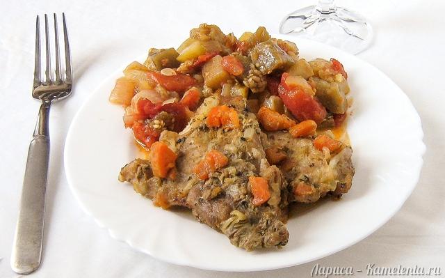 Рецепт свинина, запеченная в духовке