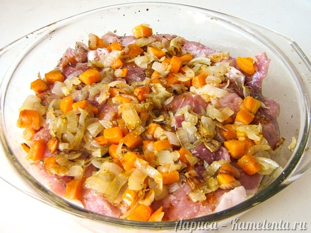 Приготовление рецепта Свинина, запеченная в духовке шаг 5
