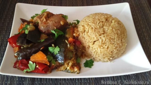 рис в овощами в мультиварке рецепты с фото