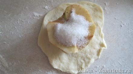 Приготовление рецепта Яблоки в тесте шаг 8