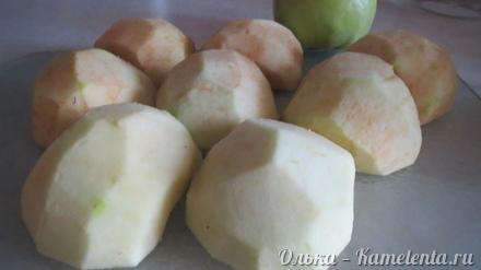 Приготовление рецепта Яблоки в тесте шаг 5