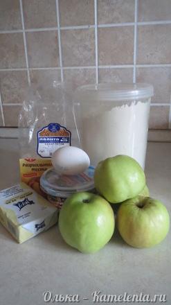 Приготовление рецепта Яблоки в тесте шаг 1