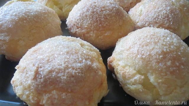 Рецепт пирожков с творожным тестом жареных на сковороде