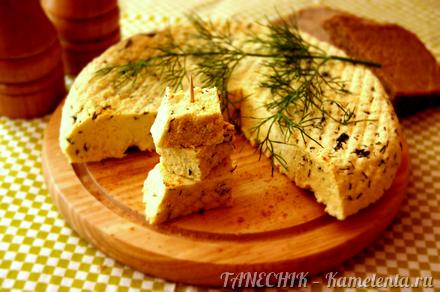 Приготовление рецепта Сыр домашний, пряный, с зеленью шаг 10