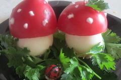 Фаршированные грибочки