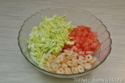 Готовим салаты с креветками с пошагово