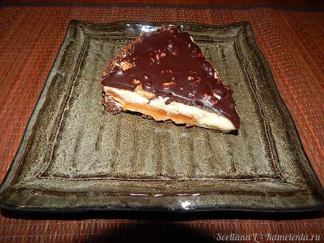 Рецепт молочного торта с карамелью и шоколадом