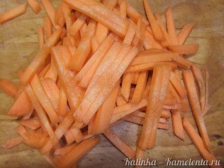 Приготовление рецепта Фунчоза с куриным филе и овощами шаг 2