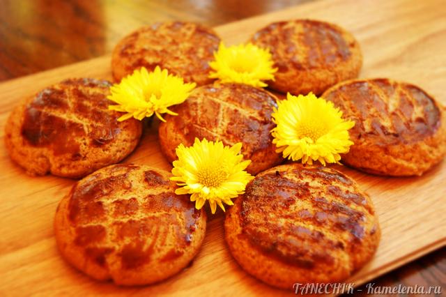 Рецепт душистого медового печенья