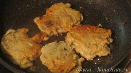 Приготовление рецепта Рыбные оладушки шаг 11