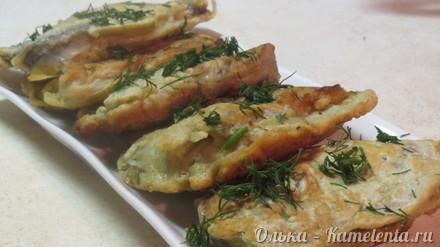 Приготовление рецепта Рыбные оладушки шаг 13
