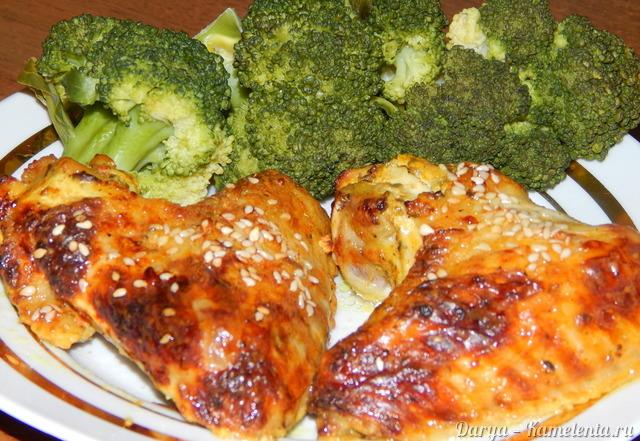 Рецепты из куриных крылышек