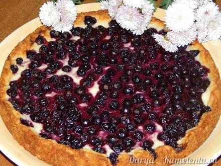 Приготовление рецепта Пирог с творогом и смородиной шаг 8