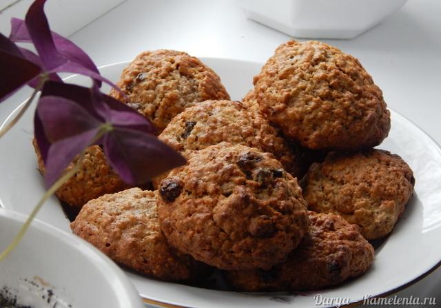 овсяное печенье из хлопьев рецепт