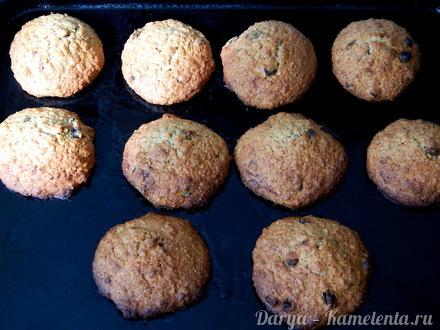 Приготовление рецепта Мягкое овсяное печенье шаг 4