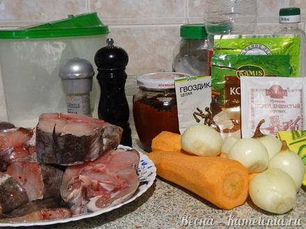 Приготовление рецепта Рыба под маринадом шаг 1