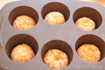Приготовление рецепта Мандариновые кексики шаг 5