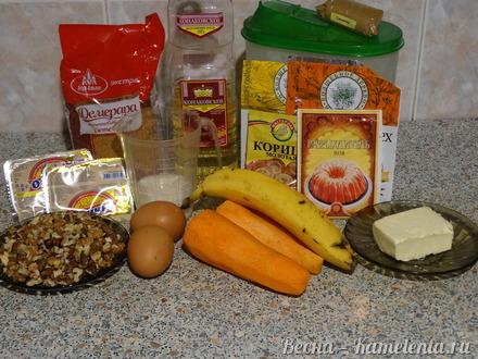 Приготовление рецепта Морковный торт шаг 1