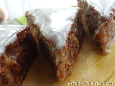 Приготовление рецепта Морковный торт шаг 11