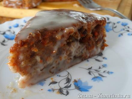 Приготовление рецепта Морковный торт шаг 14