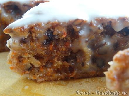 Приготовление рецепта Морковный торт шаг 13
