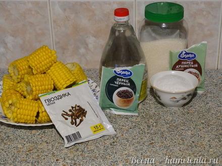 Приготовление рецепта Маринованная кукуруза в початках шаг 1