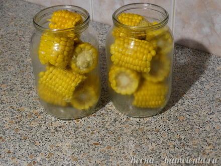 Приготовление рецепта Маринованная кукуруза в початках шаг 3