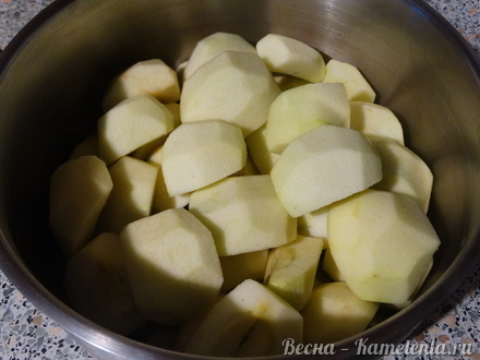 яблочный сорбет рецепт с фото