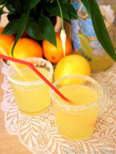 Домашние лимонады пошаговый рецепт
