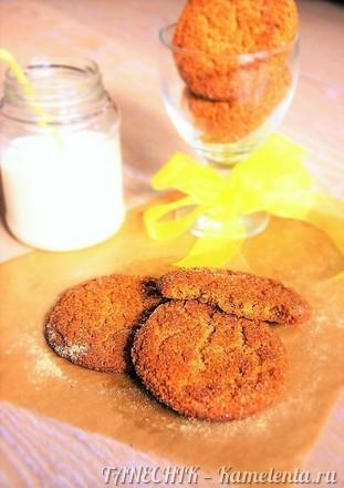Приготовление рецепта Медовое печенье с имбирем шаг 9