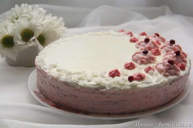 Рецепт клюквенного торта