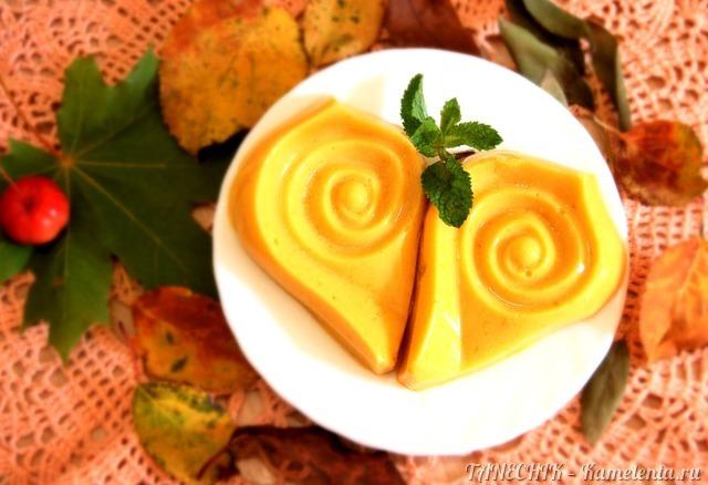 Рецепт десерта из запеченной тыквы