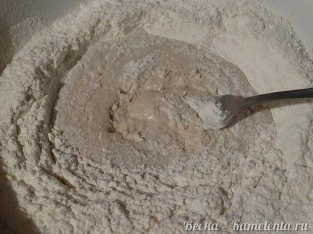 """Приготовление рецепта Рогалики """"Пуховые"""" шаг 6"""