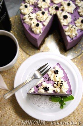 """Приготовление рецепта Торт """"Черничный мусс на брауни"""" шаг 14"""