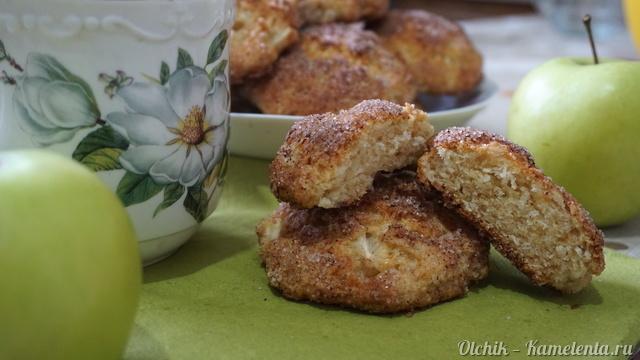 Рецепт творожно-яблочного печенья