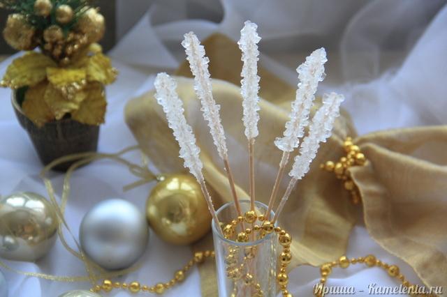 Рецепт сахарных кристаллов