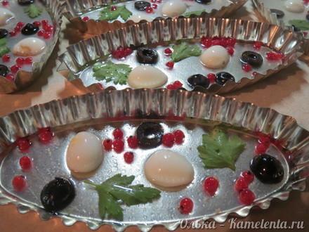 Приготовление рецепта Заливное из рыбы шаг 5