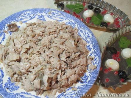Приготовление рецепта Заливное из рыбы шаг 4