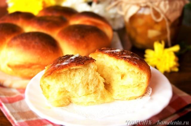 """Рецепт """"Бухтельн"""" (Buchteln) - австрийские булочки"""
