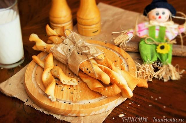 Рецепт гриссини - хлебных палочек